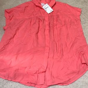 Coral Blouse!